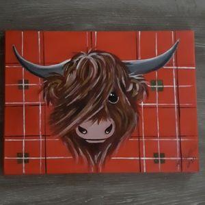 Scottish artist painting